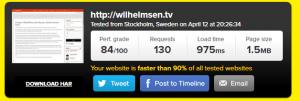 Wordpress speed optimization wilhelmsen,tv