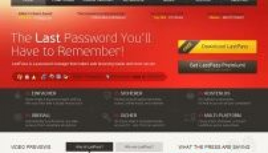 Lastpass.com | Password manager